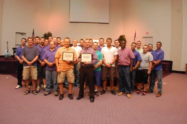 Men's July Graduation
